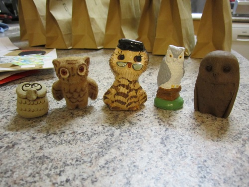 ugly owl collection