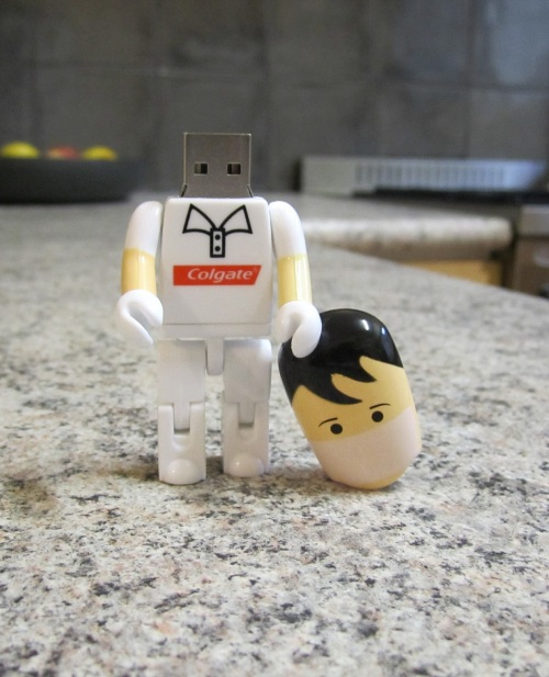 dentist USB memory stick head
