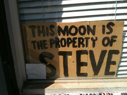 This moon is the property of steve