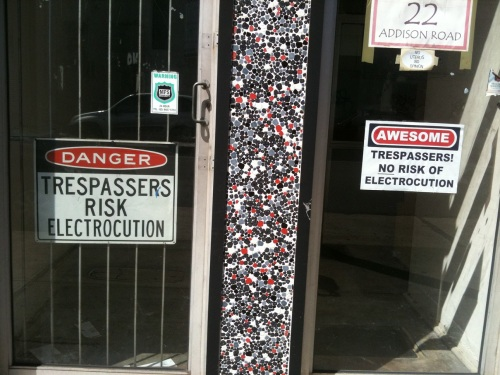 trespassers electrocution