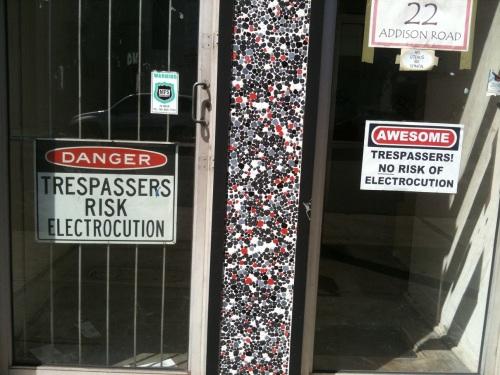 trespassers electrocution