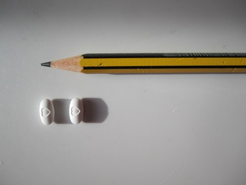 pills and pencil