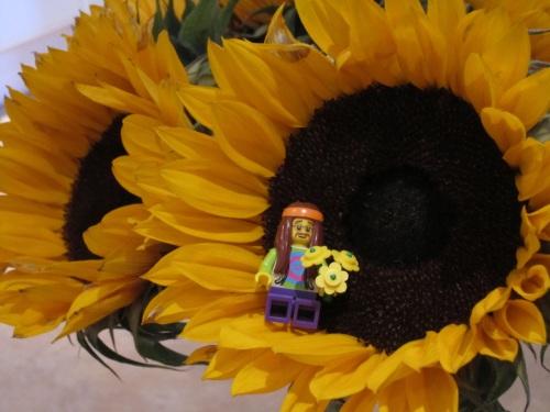 Lego minifig hippy