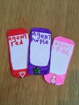 Cardboard mobile phones